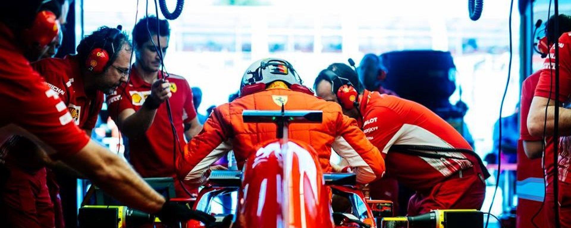 """Vettel, Ferrari: """"Possiamo fare molto meglio di così"""""""