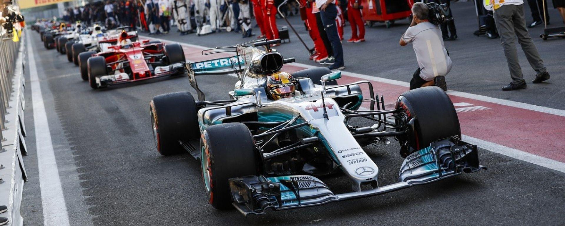 F1 2018 GP Azerbaijan