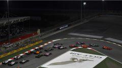 F1 2018 GP Bahrain, la partenza