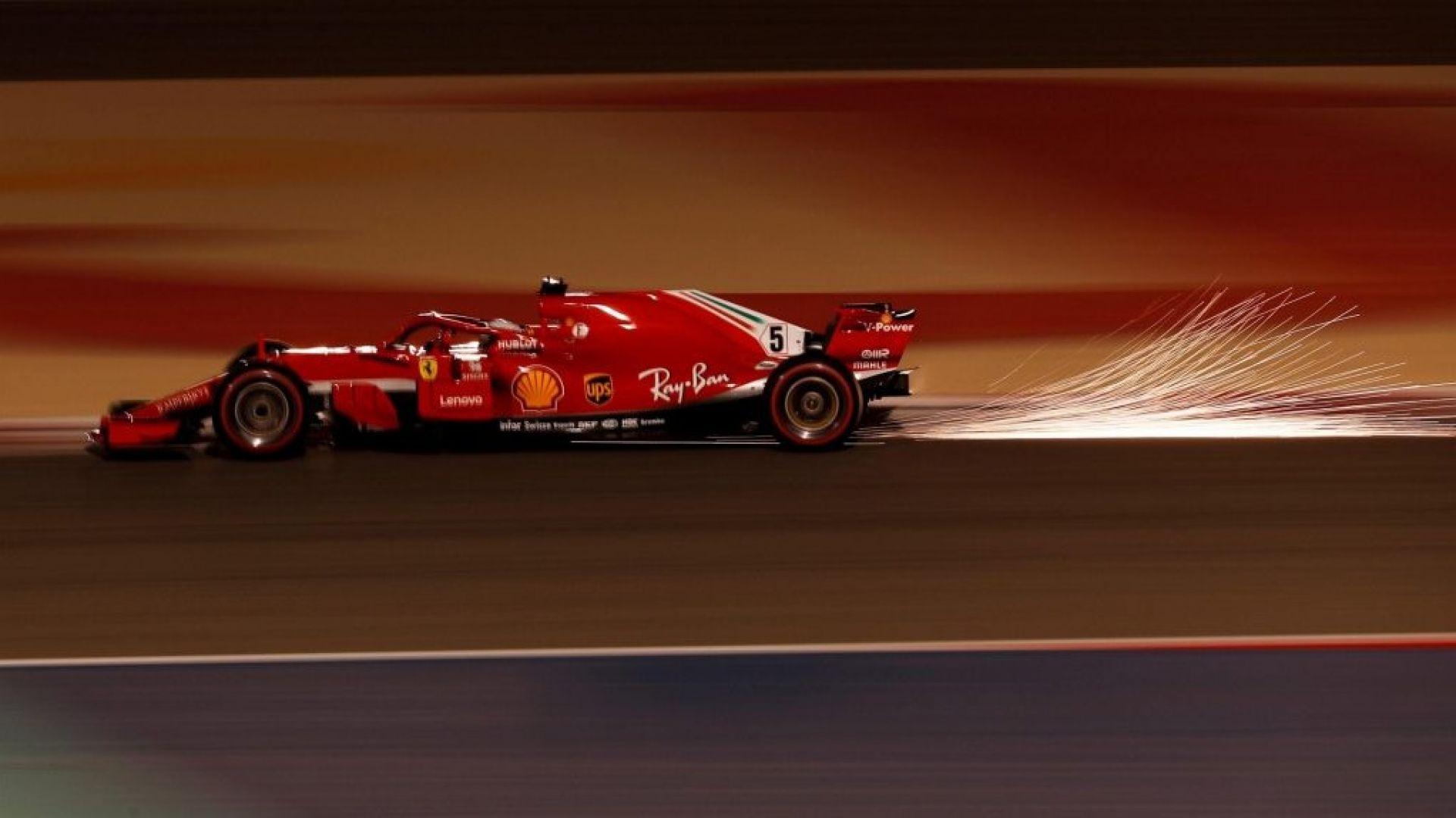 F1 Bahrain 2018 Vettel E Raikkonen Dominano Le Qualifiche