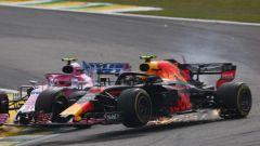 """GP Brasile, Verstappen: """"Colpa di un idiota"""". E con Ocon finisce a spintoni - Immagine: 1"""