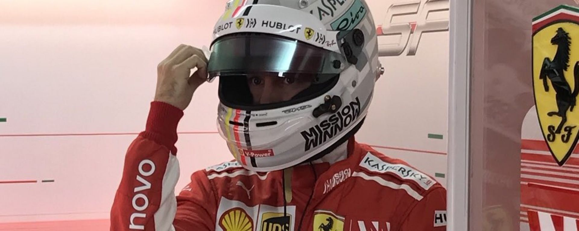 """GP Brasile, Vettel: """"Avevo uno scoiattolo tra i piedi..."""""""