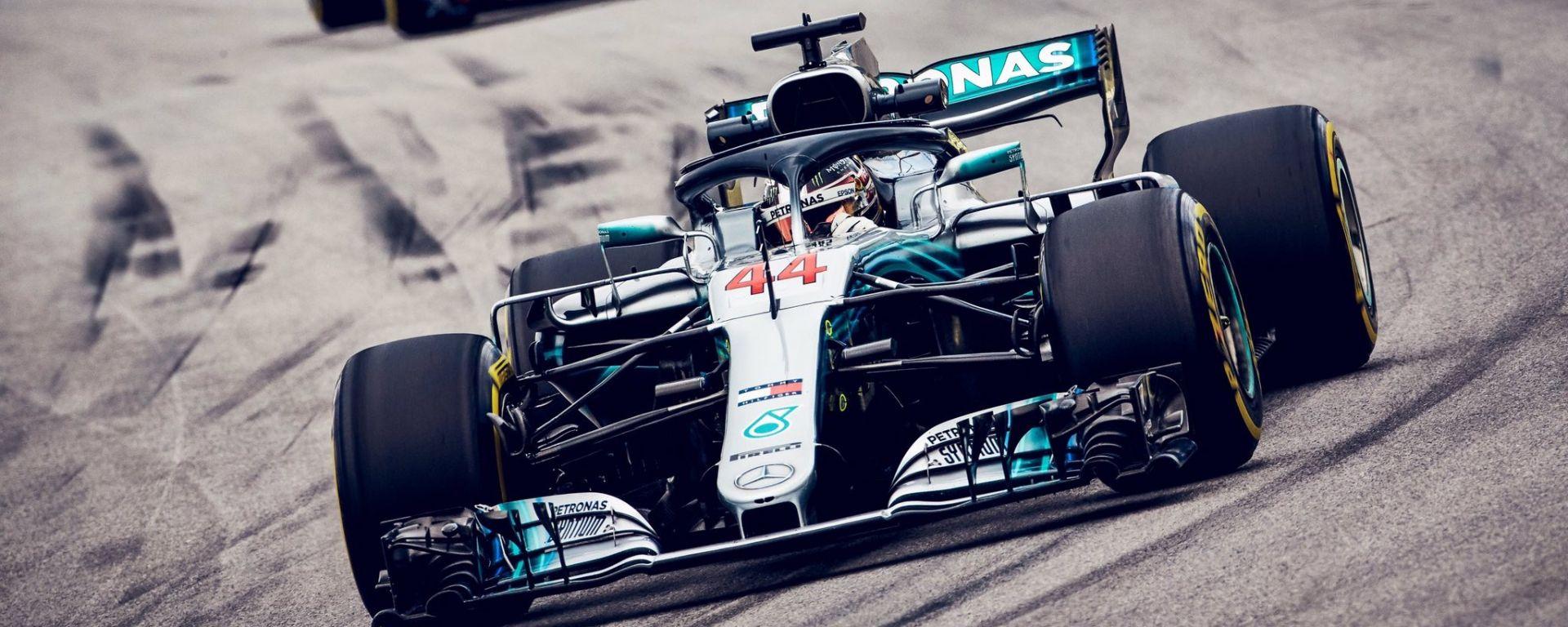 GP Brasile: vince Hamilton, ma merita Verstappen (buttato fuori da Ocon)