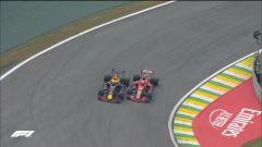 GP Brasile: vince Hamilton, ma merita Verstappen (buttato fuori da Ocon) - Immagine: 11