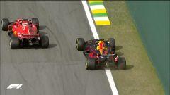 GP Brasile: vince Hamilton, ma merita Verstappen (buttato fuori da Ocon) - Immagine: 14