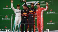 F1 2018 GP Cina, il podio