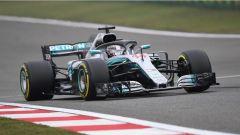 F1 2018 GP Cina, Lewis Hamilton