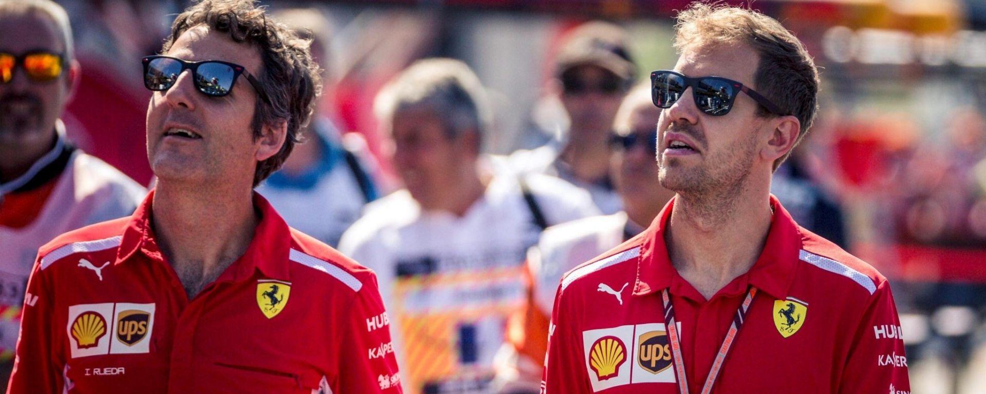 """F1 2018, GP Francia: Vettel è fiducioso """"siamo qui per fare bene con la Ferrari"""""""