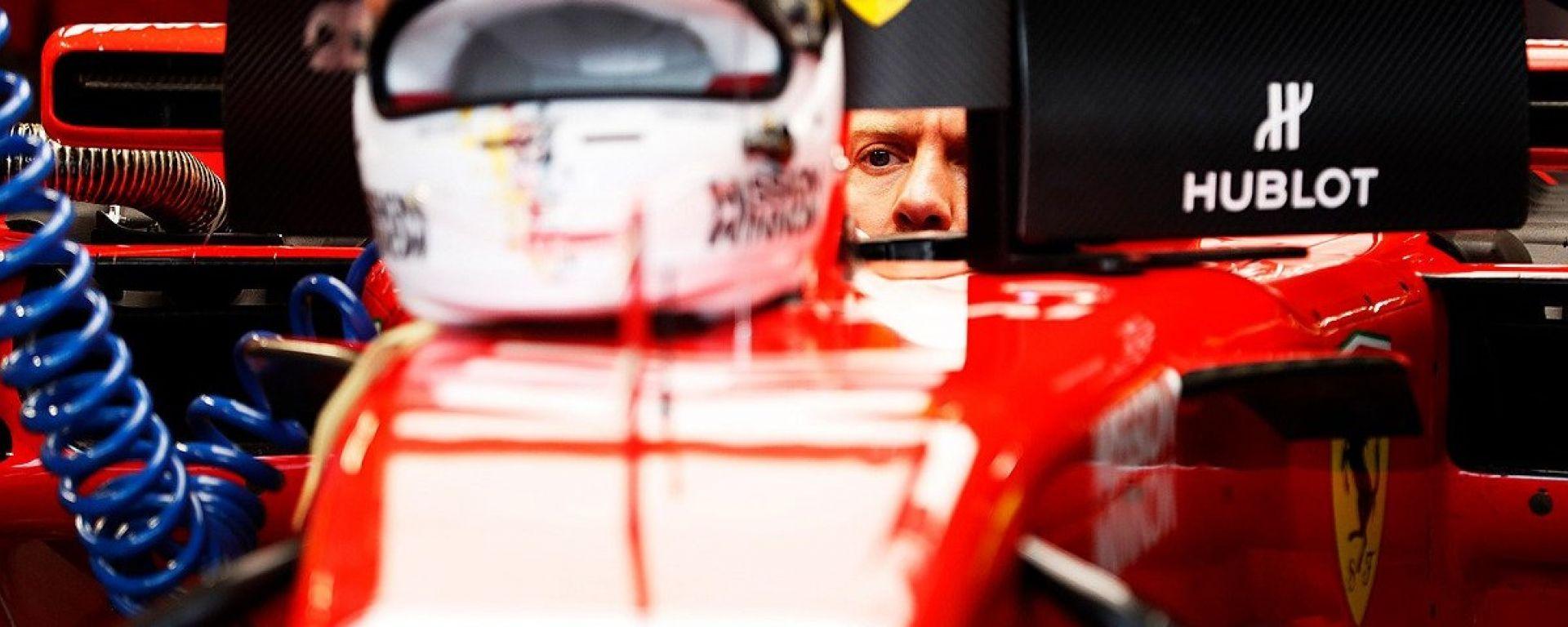 """GP Giappone, Vettel: """"Se domani la Mercedes andrà come oggi, sarà dura"""""""