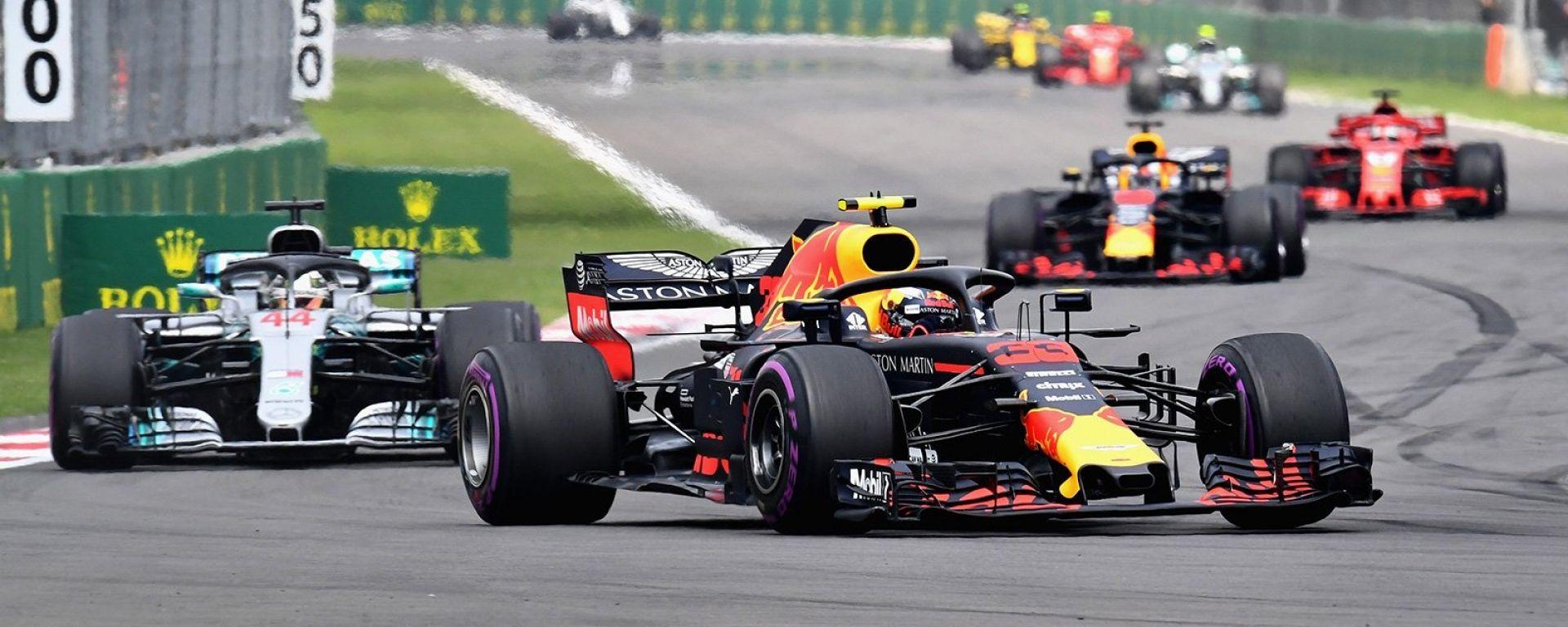 GP Messico, Olè Verstappen! Ferrari a podio. Hamilton: 5° titolo!