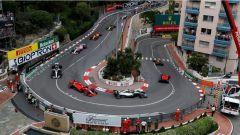 F1 2018 GP Monaco, in gara