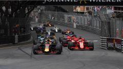 F1 2018 GP Monaco, la partenza