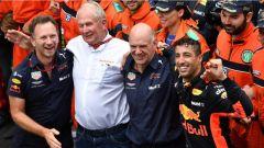F1 2018 GP Monaco, Ricciardo festeggia la sua vittoria a Montecarlo