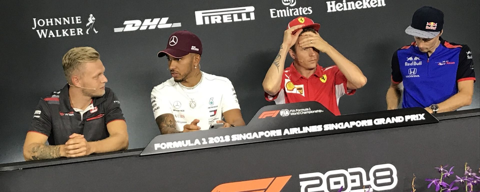 """GP Singapore, Raikkonen: """"Lasciare la Ferrari, non una mia decisione"""""""