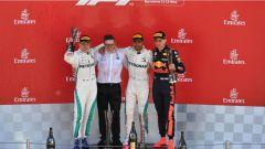 F1 2018 GP Spagna, il podio