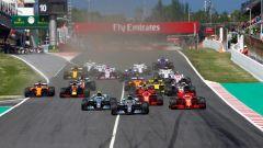 F1 2018 GP Spagna, la partenza