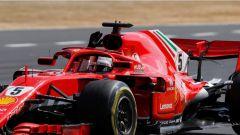 F1 2018, Gran Premio di Gran Bretagna, Vettel in azione