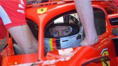Qualifiche: Hamilton ancora in pole, dietro di lui le Ferrari di Vettel e Raikkonen - Immagine: 2