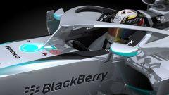 L'Halo della Mercedes può sopportare il peso di un autobus  - Immagine: 1