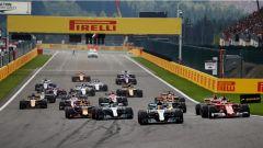 F1 2018, i piloti hanno scelto le mescole per Spa e Monza