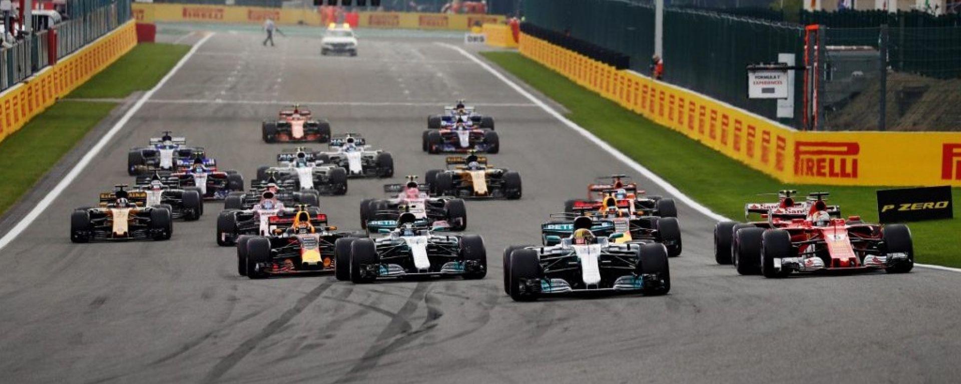 I piloti hanno scelto le mescole per Spa e Monza