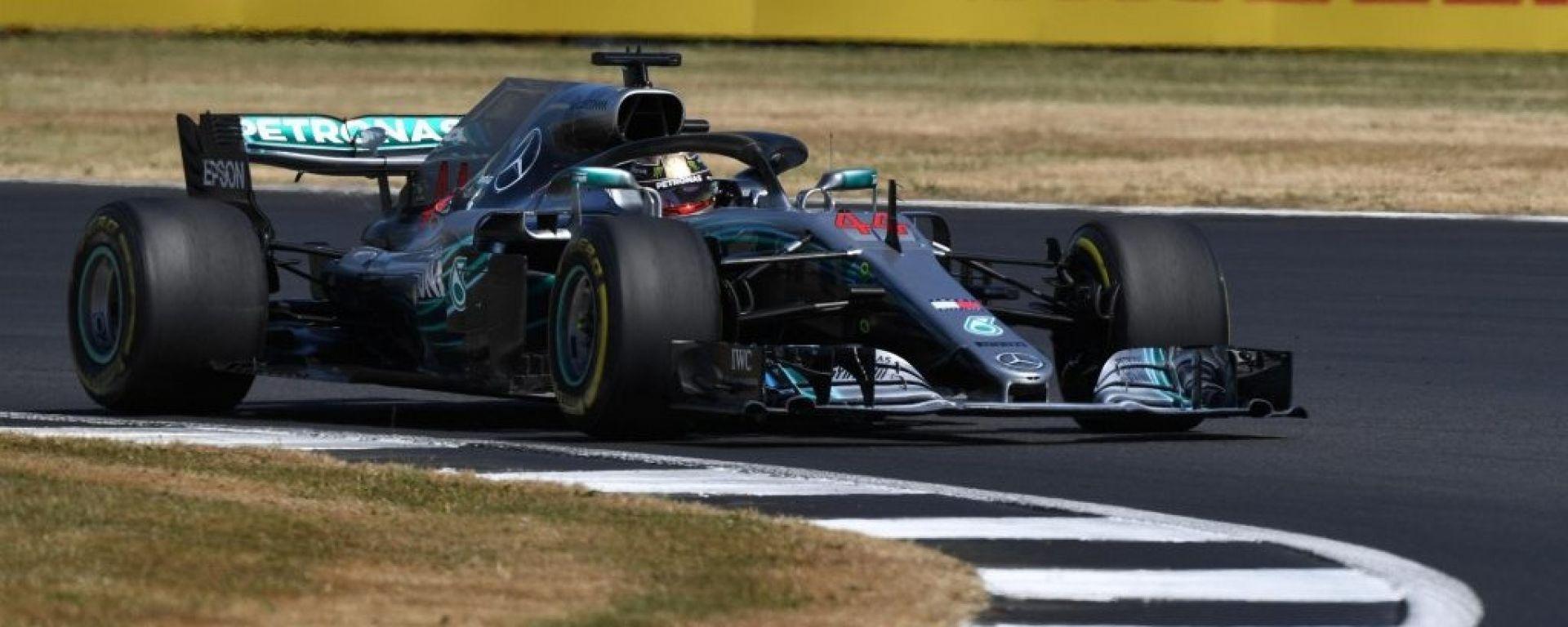 F1 2018   Lewis Hamilton rinnova, con la Mercedes fino al 2020