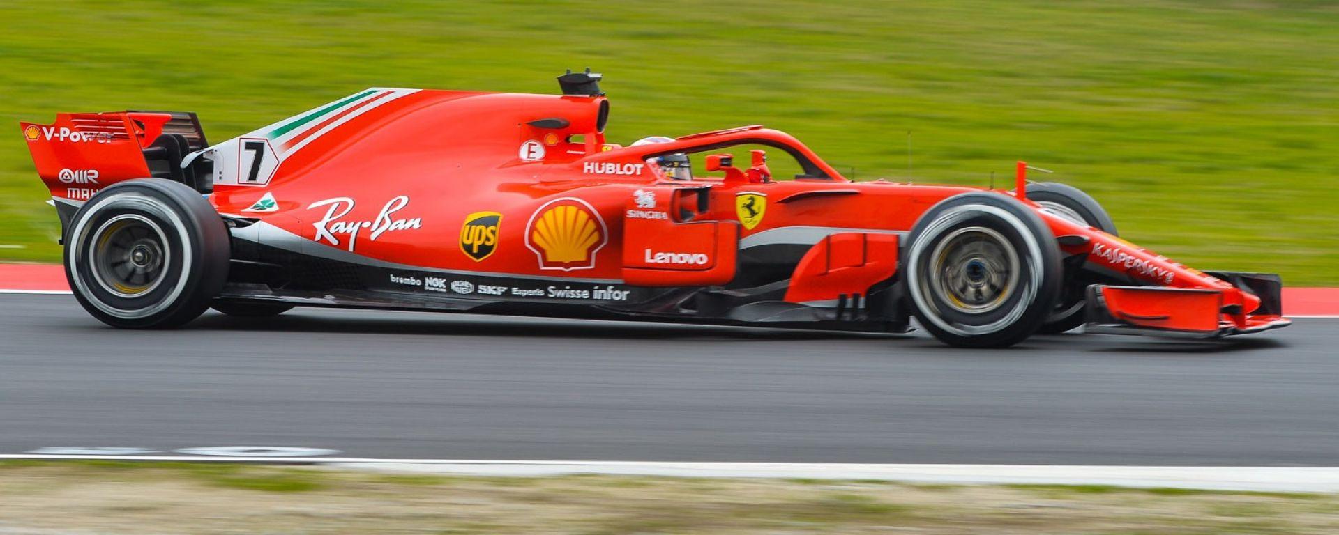 F1 2018, primi test a Barcellona: la gallery fotografica