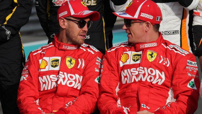 F1 2018: Sebastian Vettel e Kimi Raikkonen (Ferrari)