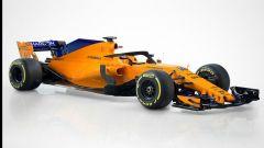 F1 2018: svelata la McLaren MCL33 per la prossima stagione, immagini