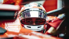 """F1 2018, Test Abu Dhabi, Leclerc: """"Certo che ho spinto, ci tenevo a fare bella figura"""""""