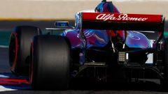 F1 2018 Test Barcellona 2 Day 1, l'Alfa Romeo Sauber di Ericsson