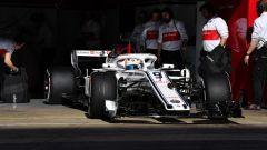 F1 2018 Test Barcellona 2 Day 1, Marcus Ericsson
