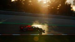 F1 2018 Test Barcellona 2 Day 1, Max Verstappen al tramonto
