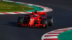F1 2018 Test Barcellona 2 Day 1, Sebastian Vettel