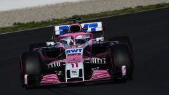 F1 2018 Test Barcellona 2 Day 1, Sergio Perez