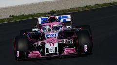 F1 2018 Test Barcellona 2 Day 1, Sergio Perez