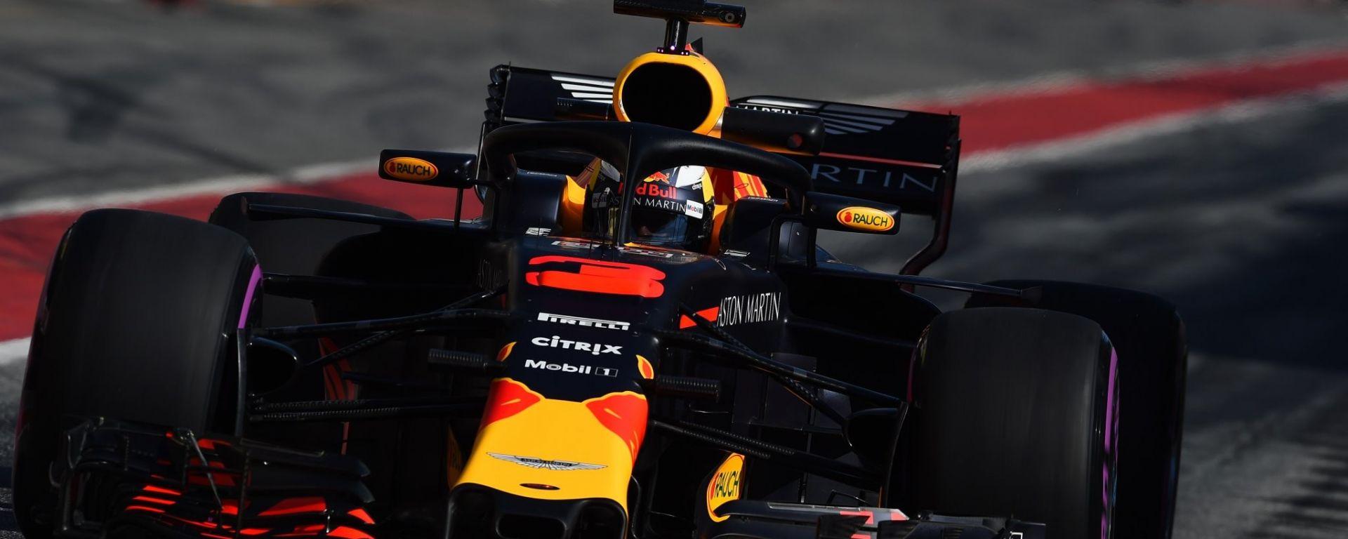 F1 2018 Test Barcellona 2 Day 2, Daniel Ricciardo