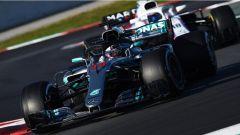 F1 2018 Test Barcellona 2 Day 2, Lewis Hamilton