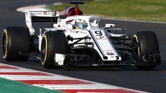 F1 2018, Test Barcellona 2: la fotogallery dell'Alfa Romeo Sauber - Immagine: 13