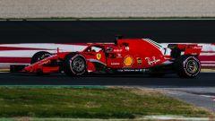 F1 2018, Test Barcellona 2: le più belle immagini della Ferrari SF71H - Immagine: 18
