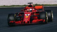 F1 2018, Test Barcellona 2: le più belle immagini della Ferrari SF71H - Immagine: 2