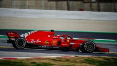 F1 2018, Test Barcellona 2: le più belle immagini della Ferrari SF71H - Immagine: 7