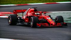 F1 2018, Test Barcellona 2: le più belle immagini della Ferrari SF71H - Immagine: 5