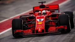 F1 2018, Test Barcellona 2: le più belle immagini della Ferrari SF71H - Immagine: 4
