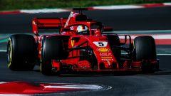 F1 2018, Test Barcellona 2: le più belle immagini della Ferrari SF71H - Immagine: 12