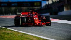 F1 2018, Test Barcellona 2: le più belle immagini della Ferrari SF71H - Immagine: 1