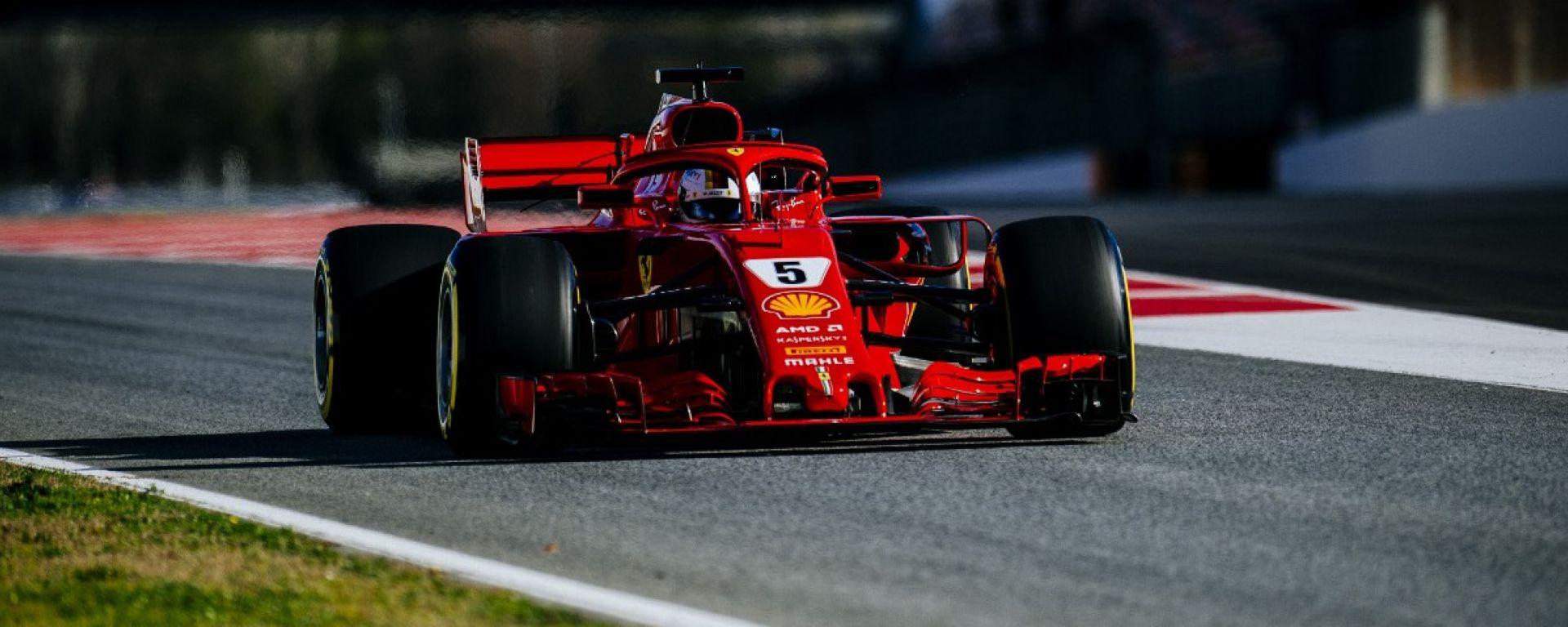 F1 2018, Test Barcellona 2: le più belle immagini della Ferrari SF71H