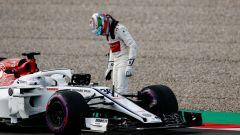Nei test, Giovinazzi fermo con l'Alfa Romeo. Oggi tocca alla Ferrari - Immagine: 5
