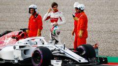 Nei test, Giovinazzi fermo con l'Alfa Romeo. Oggi tocca alla Ferrari - Immagine: 8