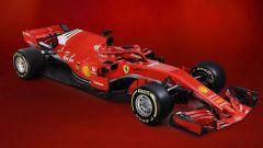 F1 2018: tutte le immagini della Ferrari SF71H - Immagine: 7